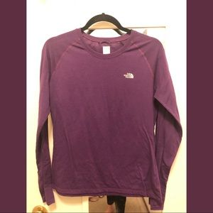 North Face Long Sleeve Running Top